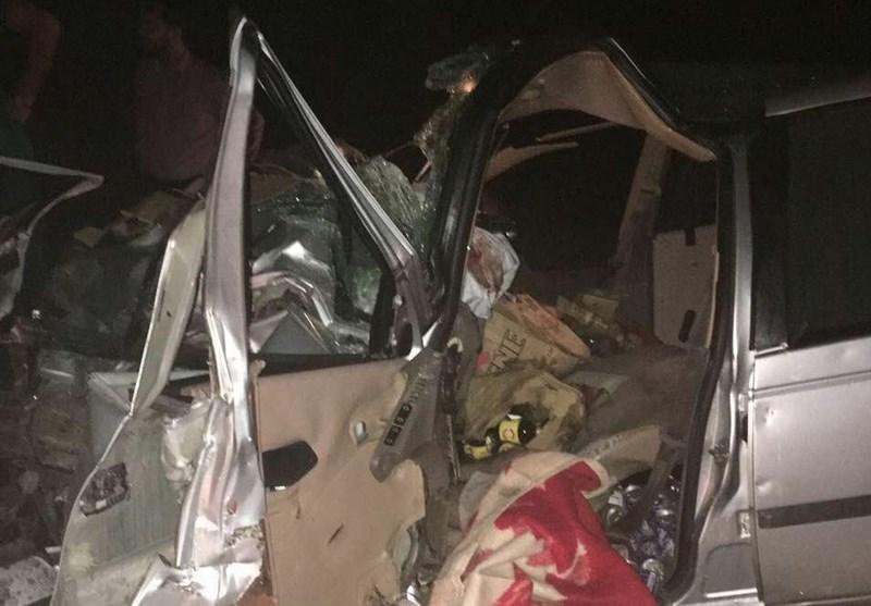 برخورد دو پژو 405 در جاده تنگستان 2 کشته برجای گذاشت