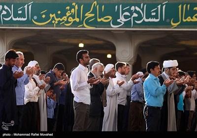 نماز عید قربان در قم