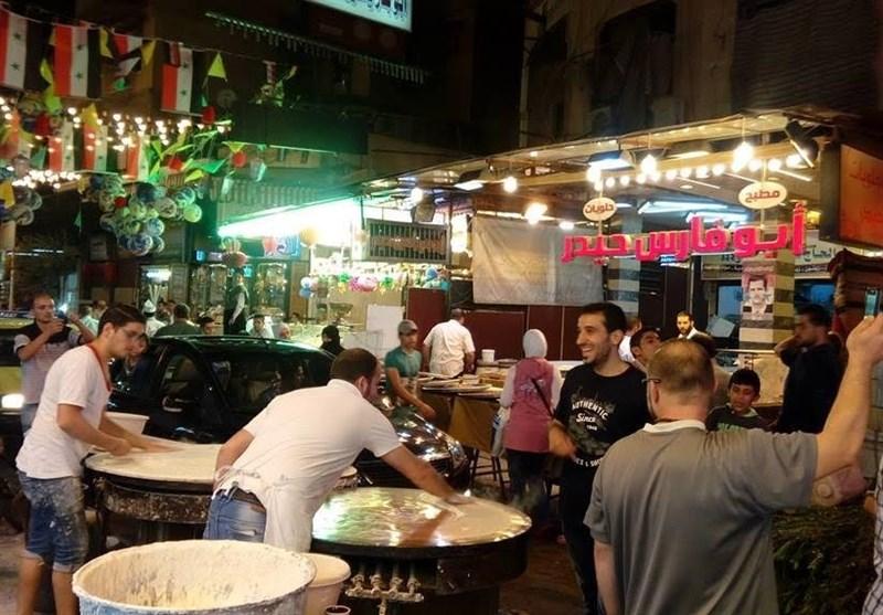 بالصور .. کیف کانت لیلة عید الأضحى المبارک فی أسواق دمشق