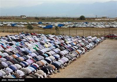 نماز عید قربان در بندرترکمن
