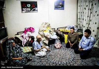 توزیع گوشت های قربانی در محله های محروم تهران