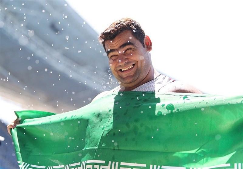 محمدیان به مدال نقره مسابقات پرتاب وزنه رسید + تصاویر