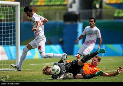 پیروزی تیم فوتبال هفت نفره ایران مقابل هلند - پارالمپیک ریو 2016