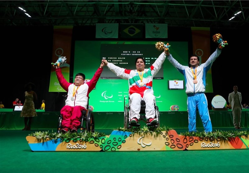 Iranian Powerlifter Farzin Wins Gold at Rio Paralympics