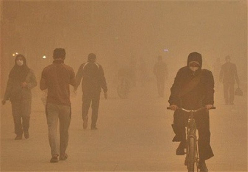 مردم منطقه سیستان در هنگام وقوع طوفان کمتر از منزل خارج شوند