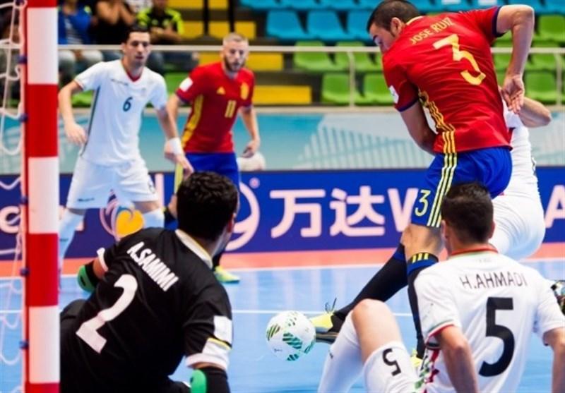 FIFA Futsal World Cup: Iran Beaten by Spain