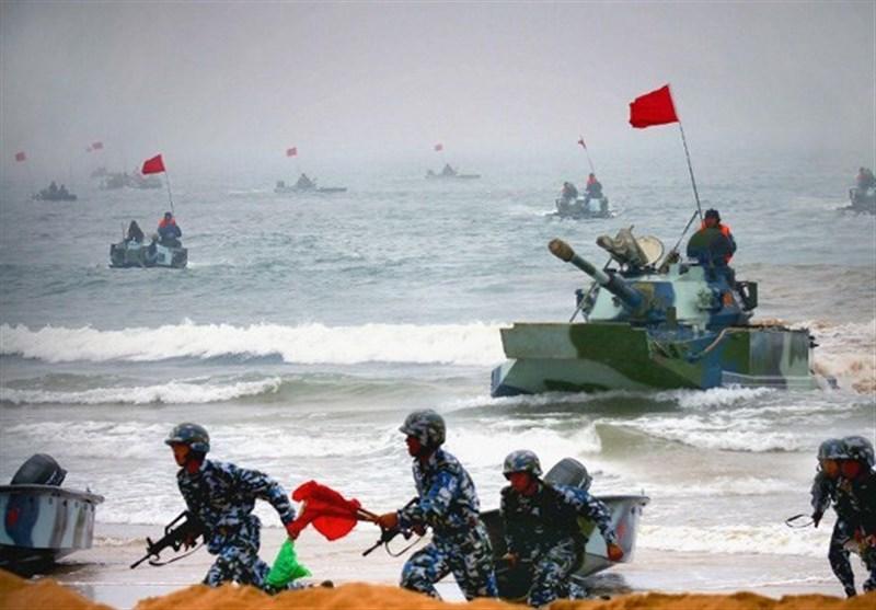 خطے کی دو بڑی طاقتوں چین اور روس کی مشترکہ بحری مشقوں کا آغاز