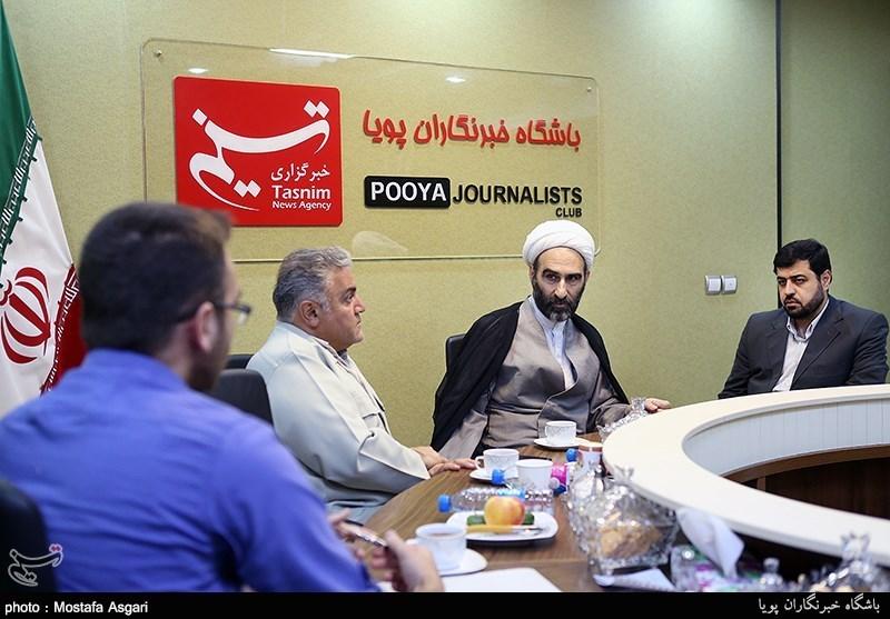 بازدید آیتالله احمد مبلغی از باشگاه خبرنگاران پویا