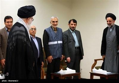 Leader Ayatollah Khamenei Meets Officials from Statistical Center of Iran