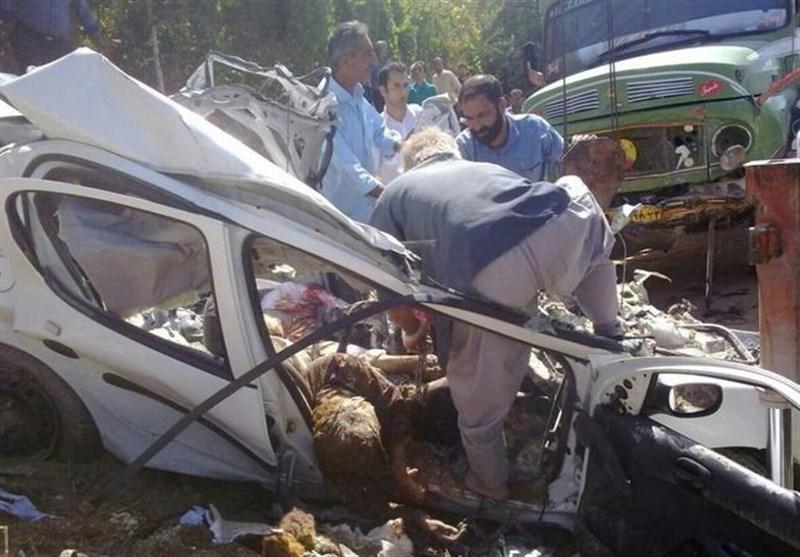 قصور راه و شهرسازی و تخطی از سرعت مطمئنه؛ 2 علت سقوط پژو در جاده چالوس