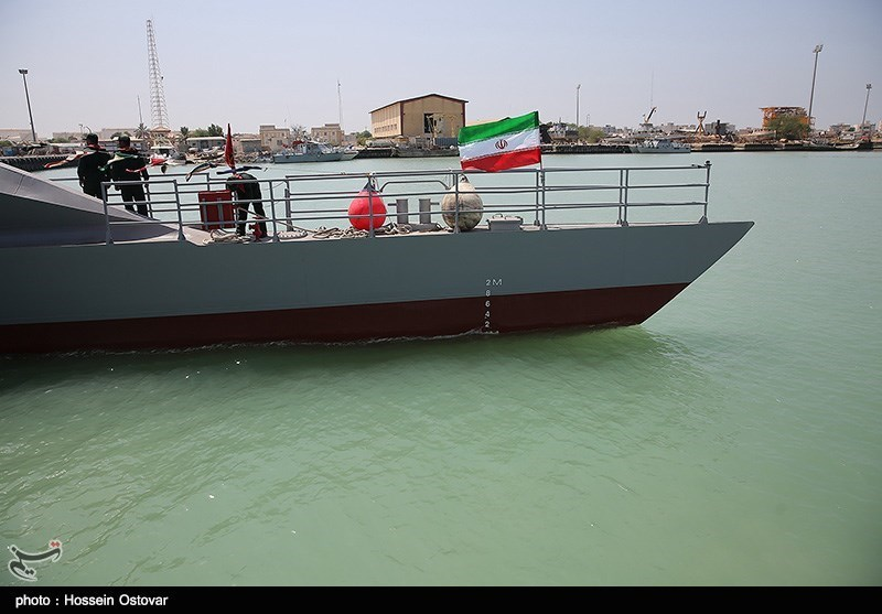مراسم الحاق شناور شهید ناظری به ناوگان دریایی - بوشهر