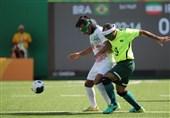 تساوی شاگردان فلفلی مقابل برزیل/ صعود تیم فوتبال 5 نفره به نیمه نهایی