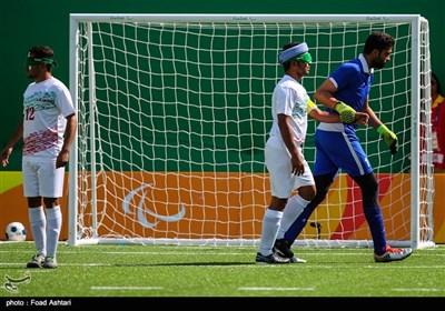 دیدار تیمهای فوتبال پنج نفره ایران و برزیل - پارالمپیک ریو 2016