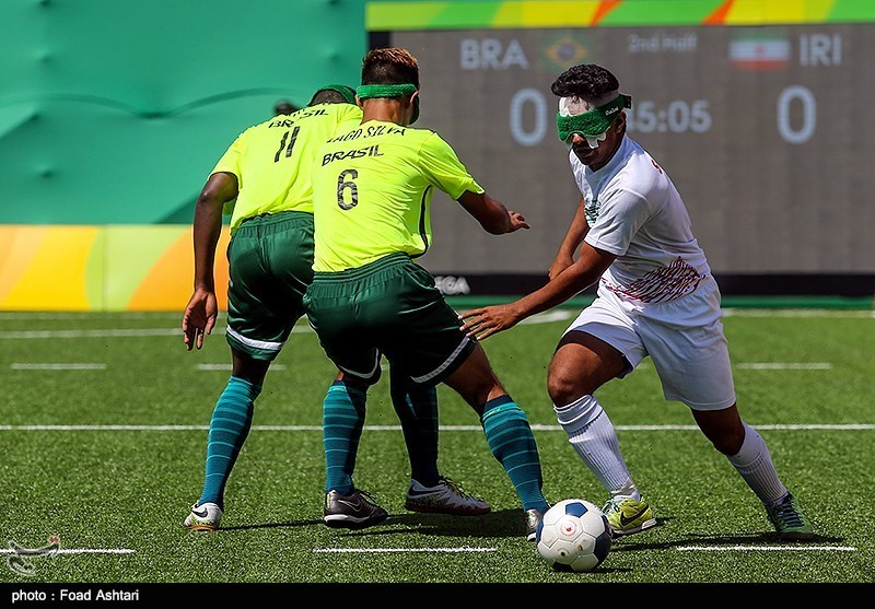 Iran Football 5-a-side to Meet Argentina in Paralympic Semis
