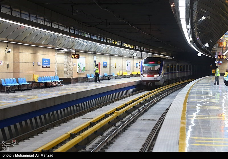 مراسم افتتاح مترو شهید قدوسی