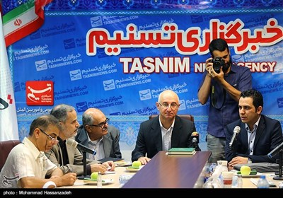 Armenian Journalists Visit Tasnim News Agency