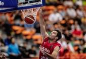 ساهاکیان: آبروی بسکتبال ایران را حفظ کردیم