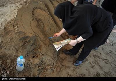 جشنواره ساخت مجسمه های شنی -مازندران