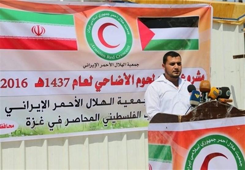 İran Kurban Bayramı Dolayısıyla Filistin'e yardım gönderdi
