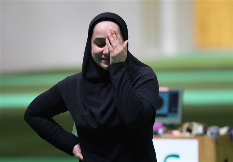 Iran's Javanmardi Takes Gold at Para Shooting World Cup
