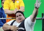 سیامند رحمان در تمرینات رکورد جهان را شکست