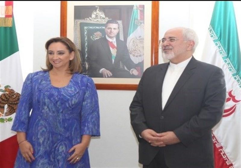 İran ve Meksika Dışişleri Bakanları İkili İlişkilerin Derinleşmesini Vurguladılar