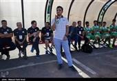 دیدار تیم های ماشین سازی تبریز و سپاهان اصفهان