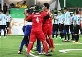 تیم فوتبال 5 نفره ایران به فینال رسید/ پیروزی مقابل آرژانتین در ضربات پنالتی + تصاویر