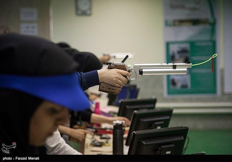 مسابقات تیراندازی بانوان کشور - کرمانشاه