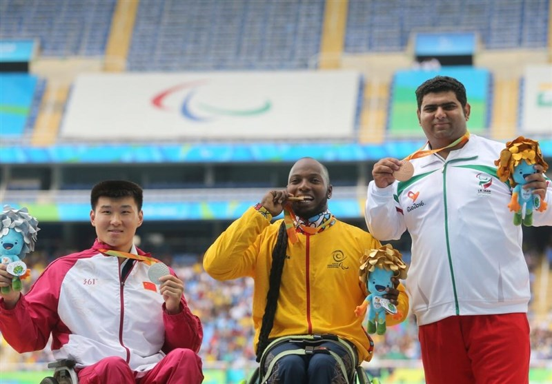 Iran's Shot Putter Kaedi Wins Silver at World Para Athletics Championships