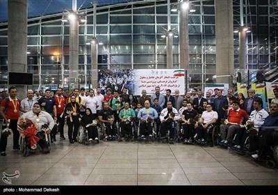 ورود کاروان پارالمپیک به کشور