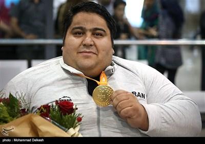 ورود کاروان ورزشکاران پارالمپیک به کشور