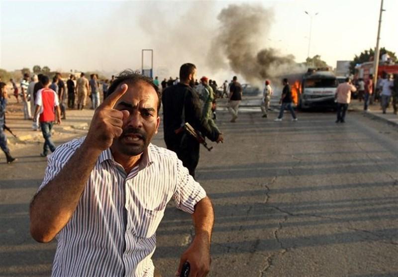 لیبیا میں اطالوی سفارتخانے کے سامنے دھماکہ