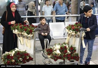 ایرانی چیمپیئنز کی دسیوں میڈلز کے ساتھ وطن واپسی