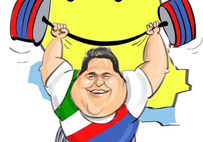 کاریکاتور/ لبخند بر لب ایران