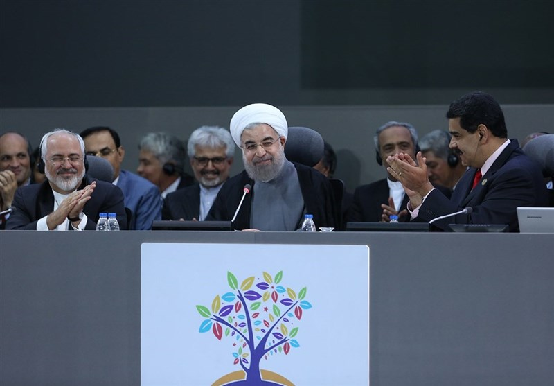 Iran's President Highlights NAM's Int'l Role, Urges Unity