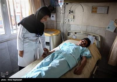 مانور آتش سوزی دربیمارستان سینا مشهد