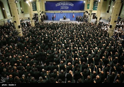 IRGC Commanders, Officers Meet Leader Ayatollah Khamenei