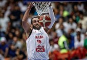 Hamed Haddadi the Best Playmaker in Asia Cup: FIBA