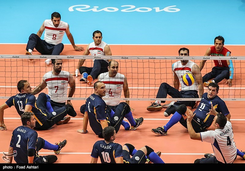 بیپولی، اردوی تیم ملی والیبال نشسته را عقب انداخت