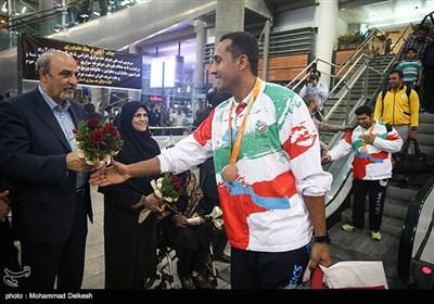 بازگشت کاروان پارالمپیک