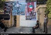 برگزاری مراسم وداع با گلبارنژاد با حضور وزیر ورزش + تصاویر
