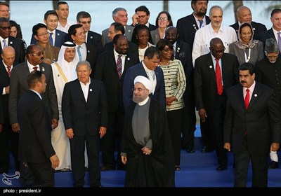 الرئیس روحانی فی اجتماع القمة الـ 17 لحرکة عدم الانحیاز