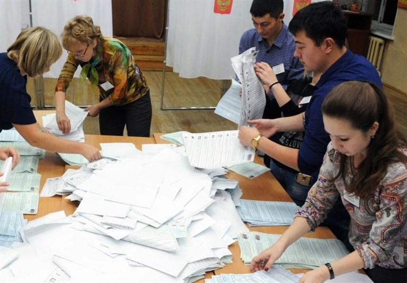 الحزب الحاکم یتصدر الانتخابات البرلمانیة الروسیة