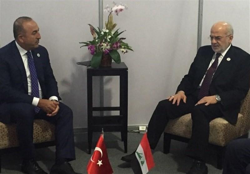 وزراء خارجیة ترکیا والعراق