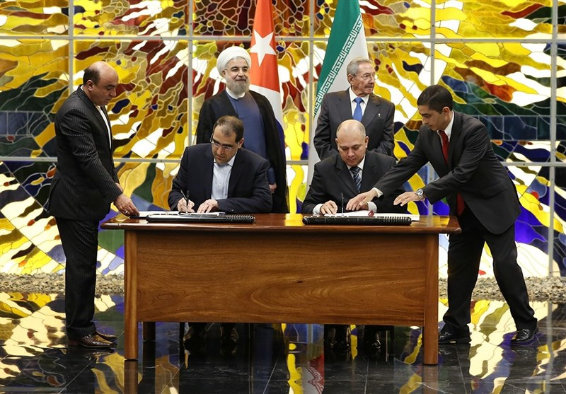 Iran, Cuba Ink MoU to Boost Cooperation in Health, Medicine