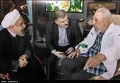 رییس جمهور ایران در دیدار فیدل کاسترو رهبر انقلاب کوبا