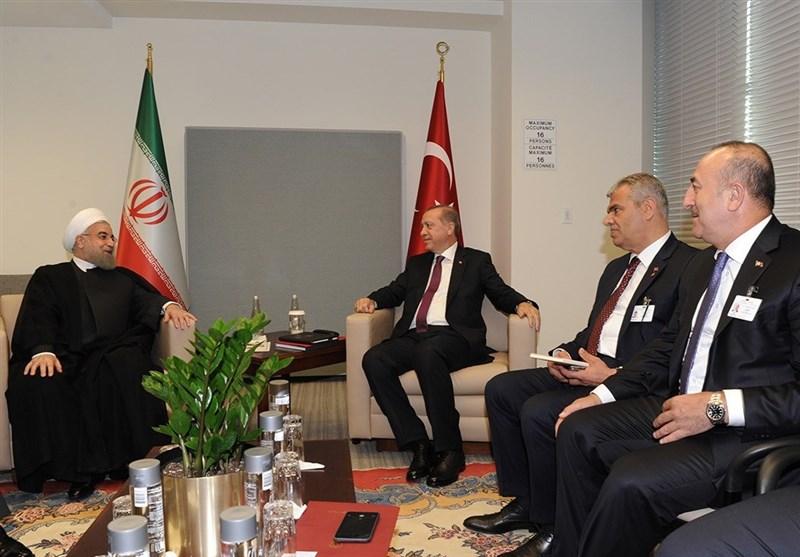 President Rouhani Highlights Iran, Turkey's Key Role in Anti-Terror Fight