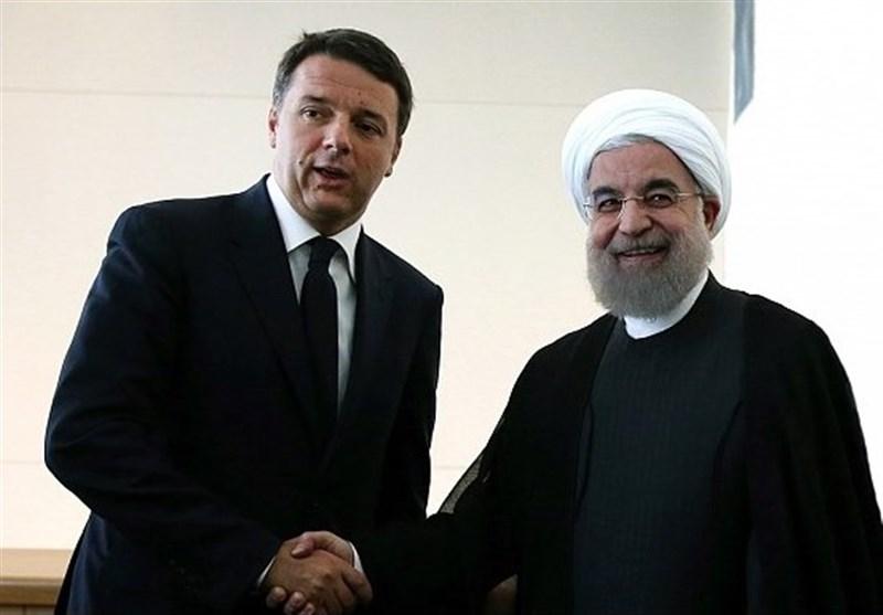 Hasan Ruhani, İtalya Başbakanı ile Görüştü