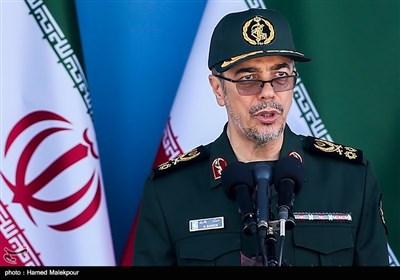سخنرانی سرلشکر محمد باقری رئیس ستاد کل نیروهای مسلح در مراسم رژه نیروهای مسلح - تهران